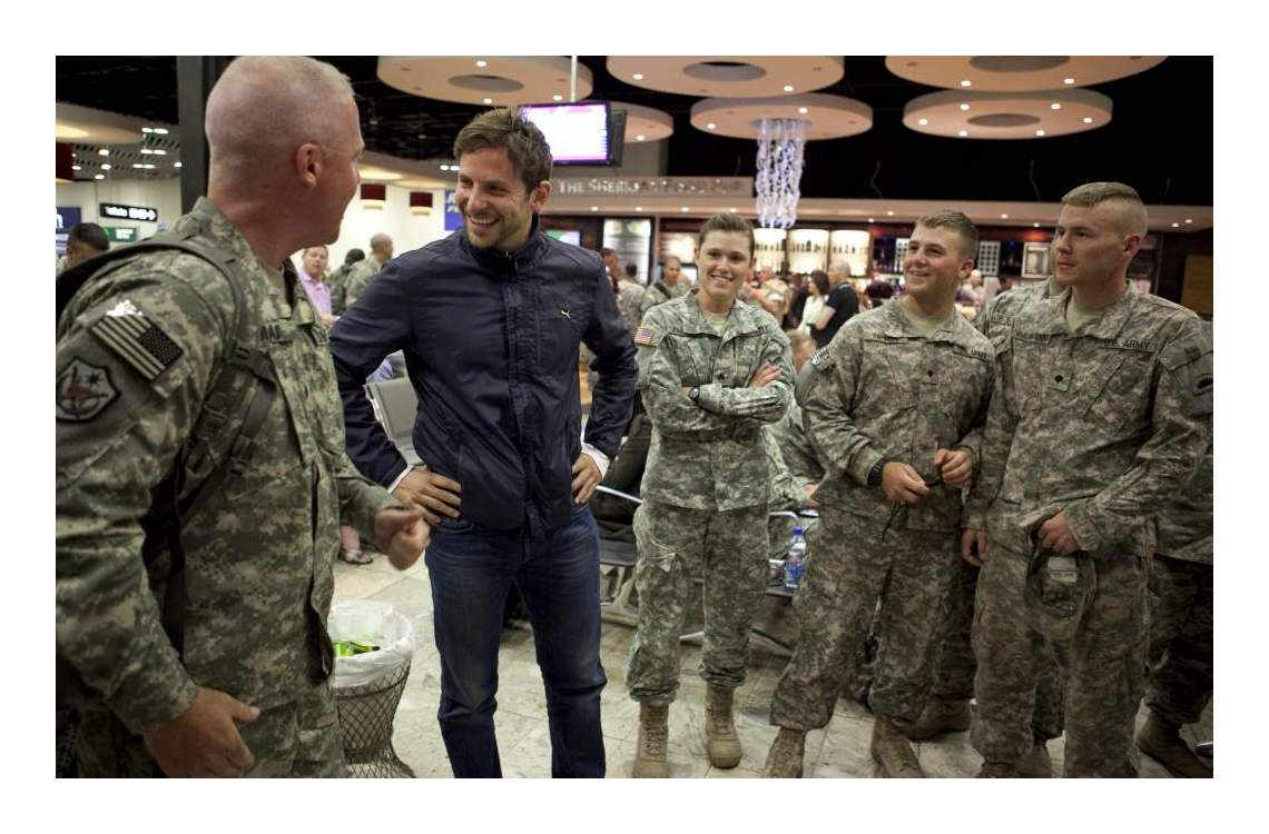 Various International ... Bradley Cooper